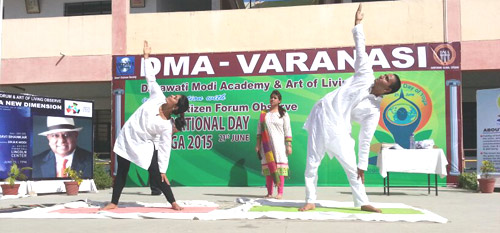 International Day of Yoga 21/06/2015 Pic-1