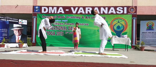 International Day of Yoga 21/06/2015  Pic-2